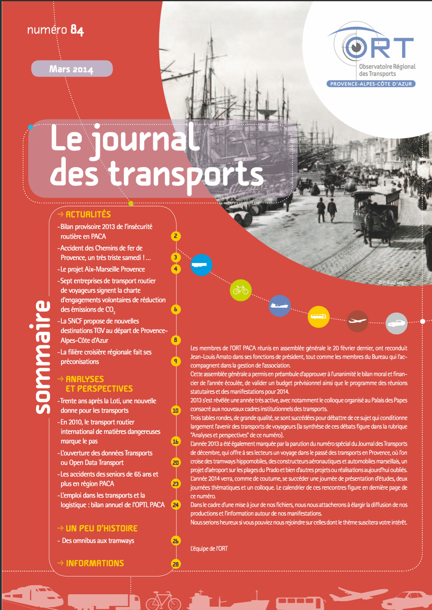Le journal des Transports N° 84