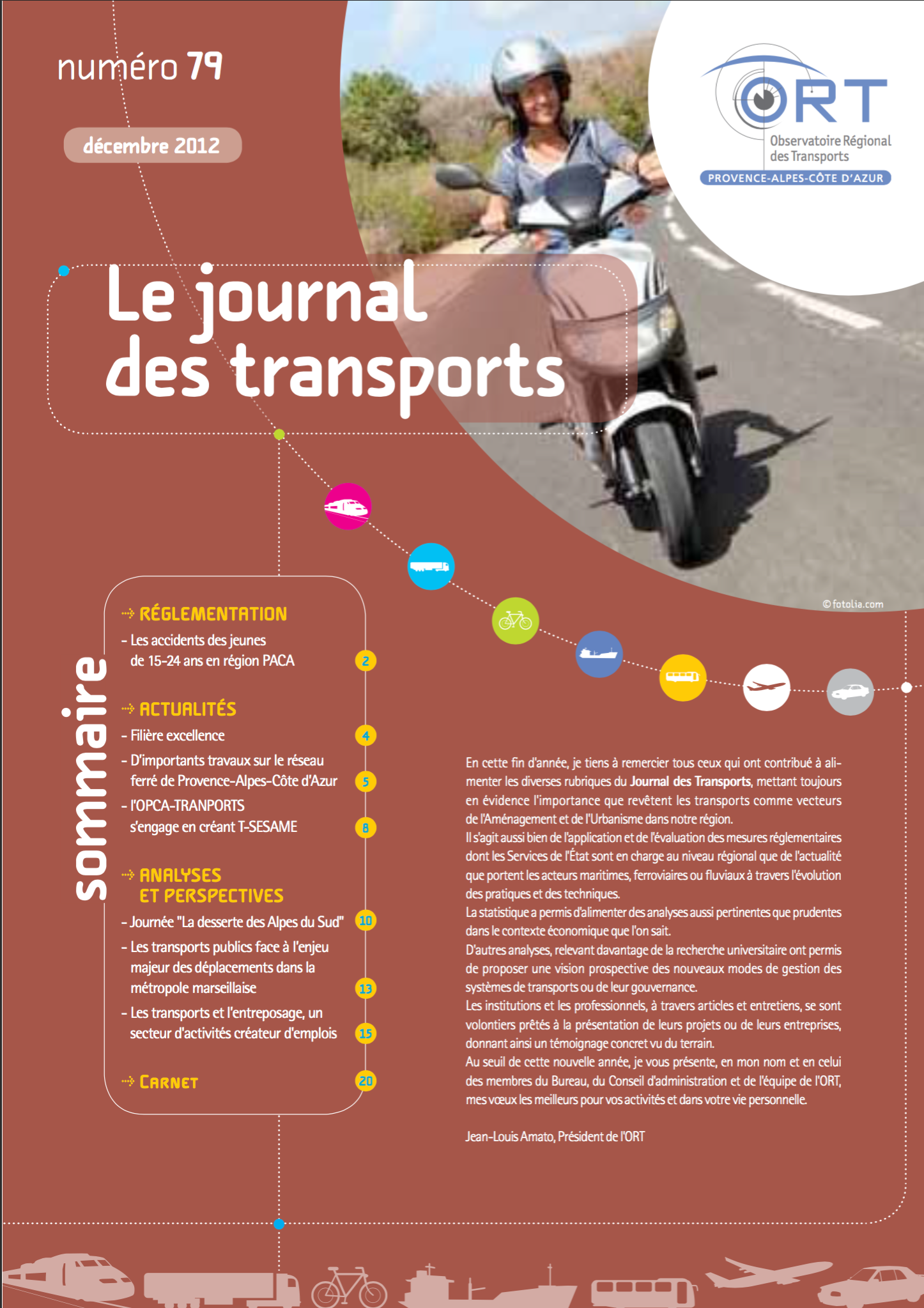 Le Journal des Transports N°79