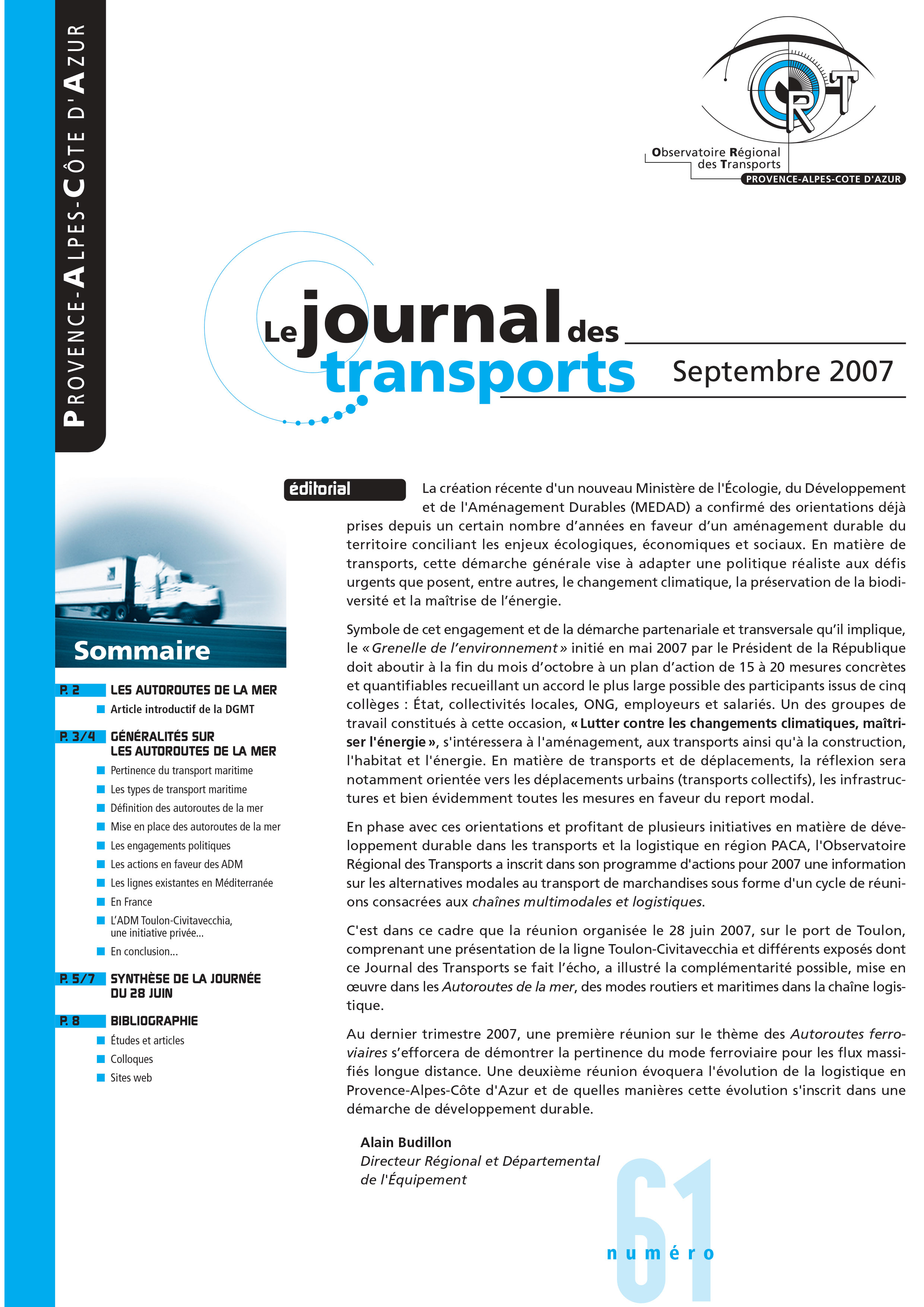 Le journal des transport N°61