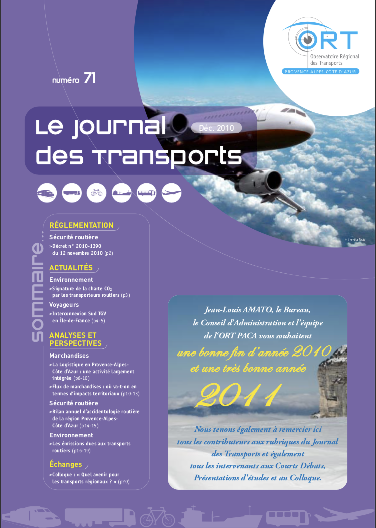 Le Journal des transports n° 71