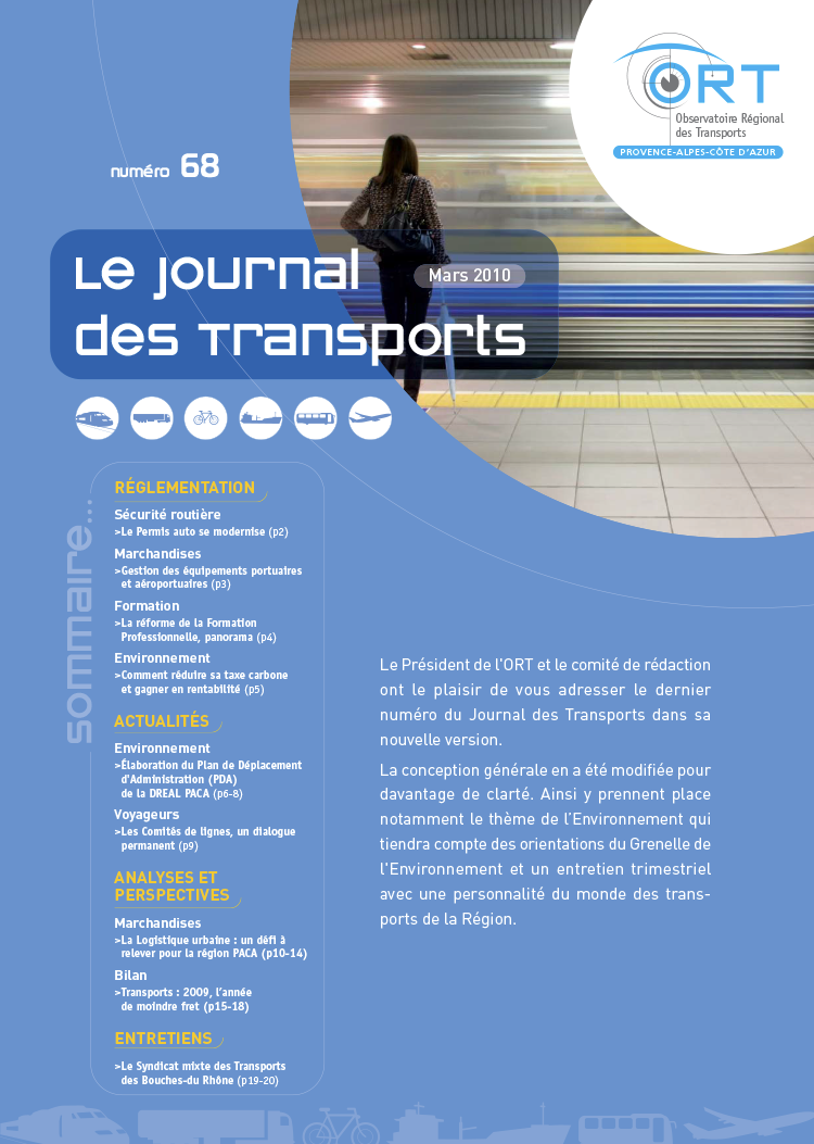 Le Journal des transports n° 68